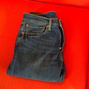 Levi's 34x32 512 Slim Taper Jeans